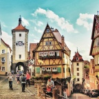 Rothenburg ob der Tauber- A Fairy Tale Town Straight Out of Dreams