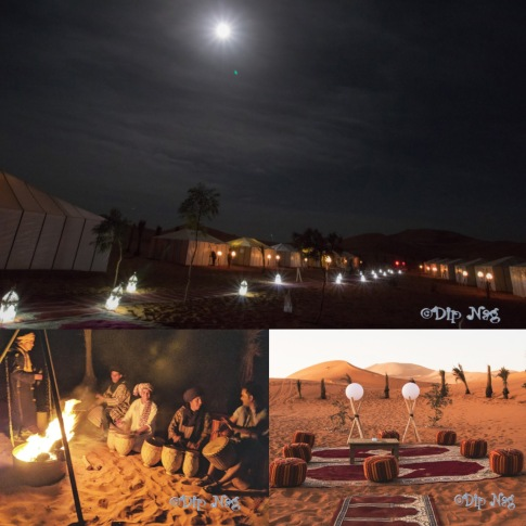 Desert Camp Collage